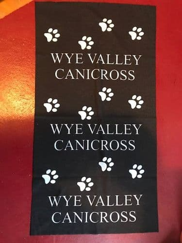 "Wye Valley Canicross ""buff type"" scarf"