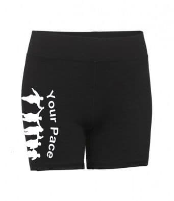 Your Pace or Mine Ladies Compression Shorts