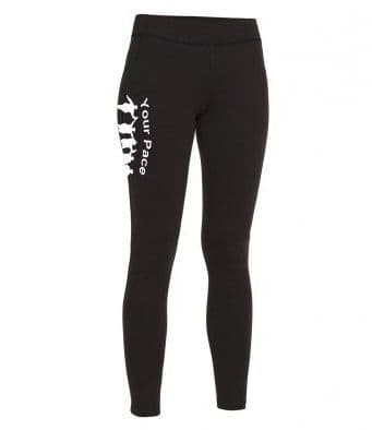 Your Pace or Mine Ladies Leggings
