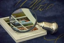 Sterling Silver Handled Magnifying Glass