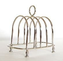 Sterling Silver Toast rack. Option of a 4, 6 or 8 slice.