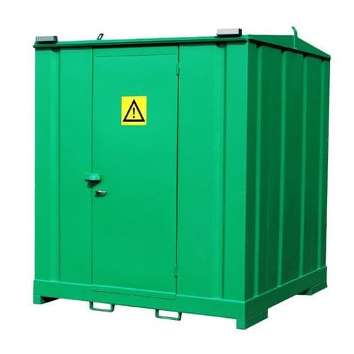 CS1 - Chemstor for 72 x 25 litre drums
