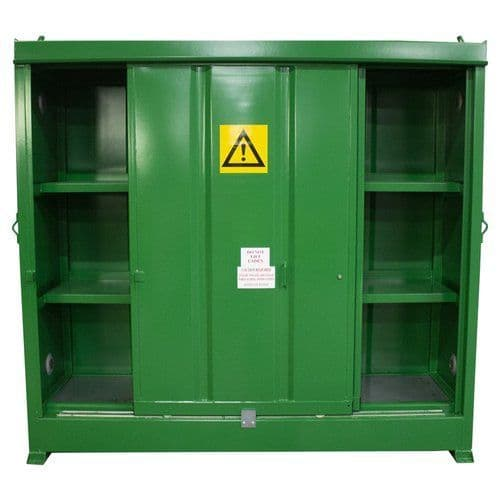 CS3 - Chemstor storage unit for 25 litre drums + small containers