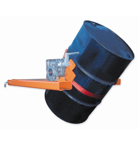 Forklift Drum Turner Attachment. Type DTL