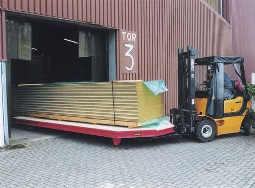 Forklift Heavy Duty Trailer Type STS