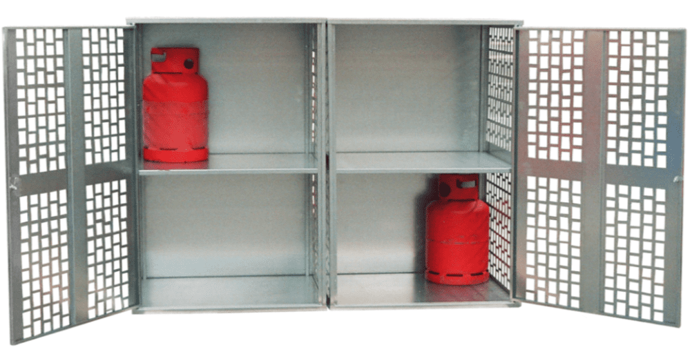 Fully Vented Gas Bottle Stores