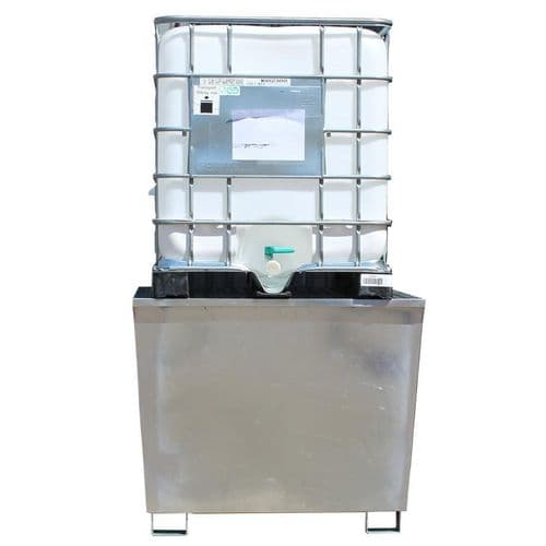 Galvanized Single  IBC  Sump Pallet