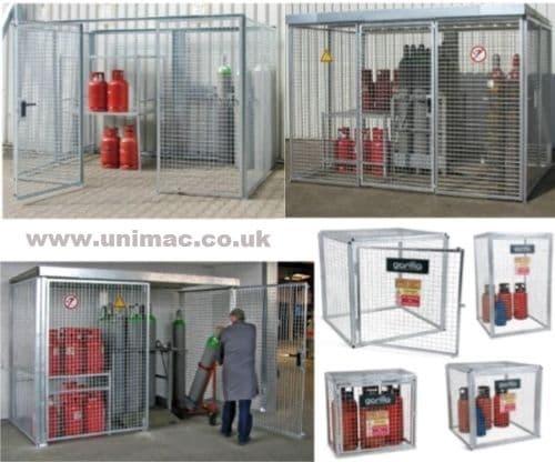 Gas Cylinder & Gas Bottle Storage