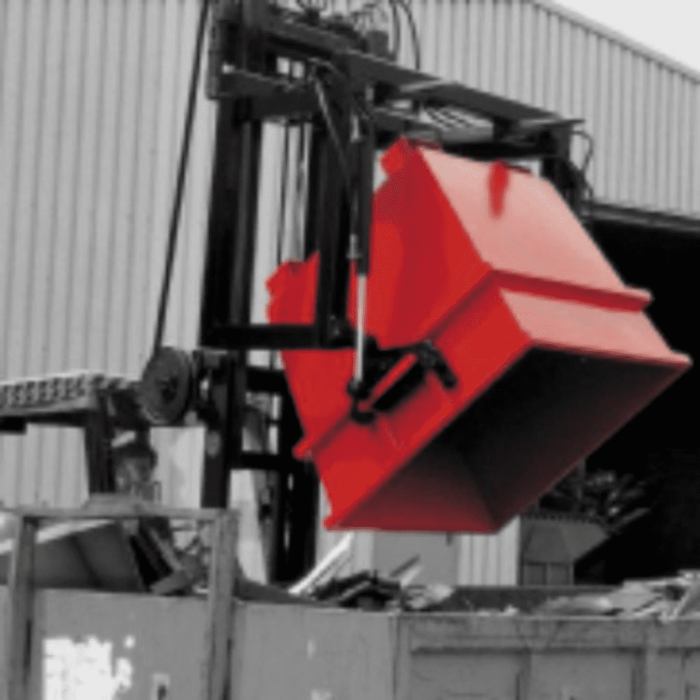 Hydraulic Traverse for Universal Containers. Type UCT