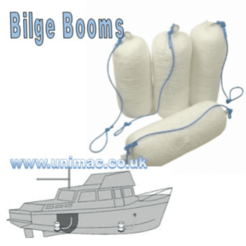 Oil Only Absorbent Bilge/Drain Booms