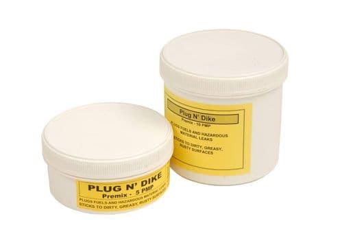 Plug N' Dike leak sealing putty