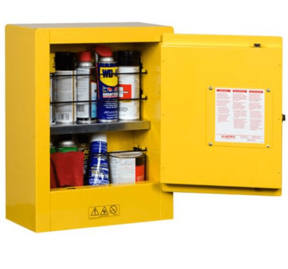 SURE-GRIP® EX MINI FLAMMABLE SAFETY CABINET