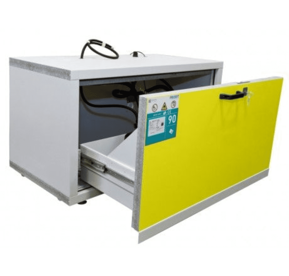 Under-Table Lithium Battery  Cabinet 11024