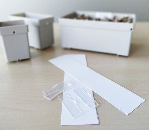 Label set for Systainer³ Organizer insert boxes (small)
