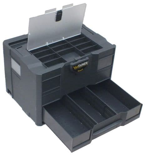 systainer T-Loc COMBI 2 with lid sort tray (Anthracite)