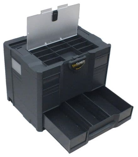 systainer T-Loc COMBI 3 with lid sort tray (Anthracite)