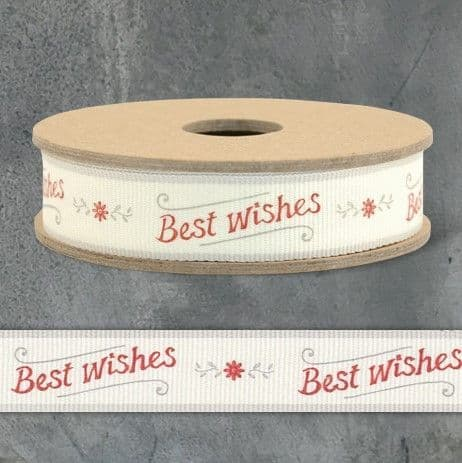 3m Ribbon-Best Wishes