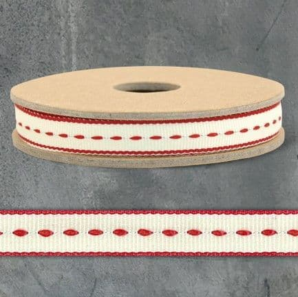 3m Ribbon-Thin stitch-Cream