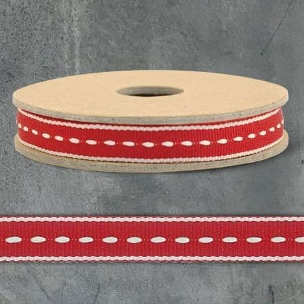3m Ribbon-Thin stitch-Red