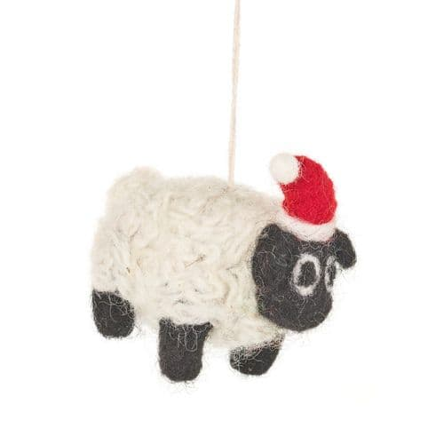 Felt Christmas Sheep