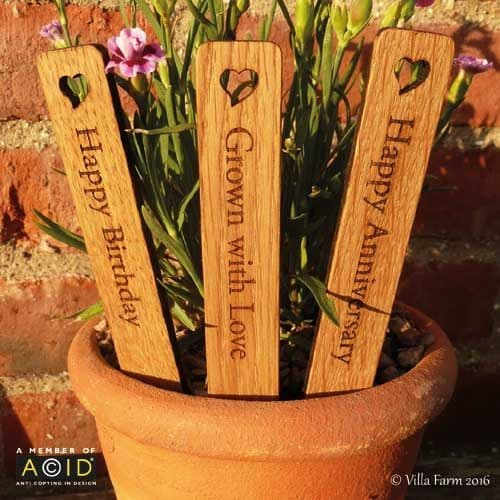Oak Plant Labels