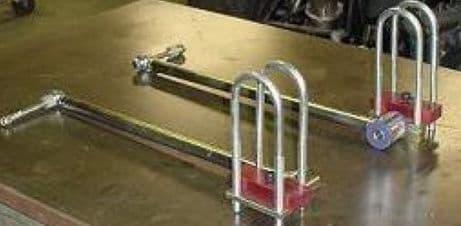 Anti-tramps Bars