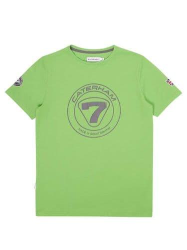 CATERHAM 7 GREEN TEE SHIRT