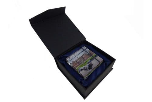 Glass Vision Paper Weight - 3 Cars
