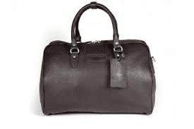 Harry - Medium Leather Holdall