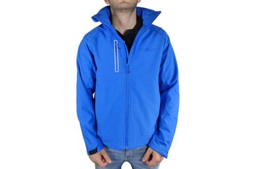 Mens Blue Softshell Jacket
