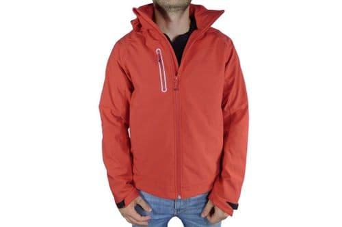 Mens Red Softshell Jacket