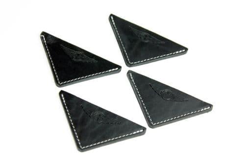 Morgan Leather Bonnet Corners x4