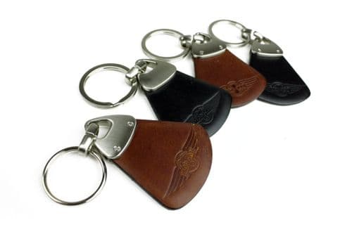 Morgan Leather Key Ring